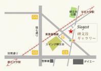ジークエスト 碑文谷ギャラリー地図
